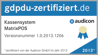 GDPdU zertifiziert